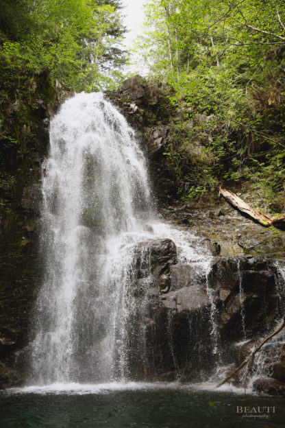 BEAUTI photography travel photographer Wall Art Weiner Falls Vancouver Island