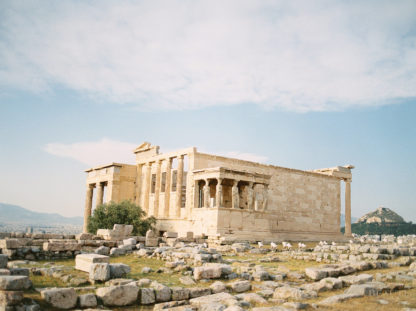 BEAUTI photography travel photographer Wall Art Acropolis Erechthion Athens Greece