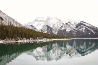 BEAUTI photography Lake Minnewanka Banff National Park Alberta travel photographer