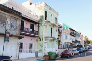 Old San Juan, Puerto Rico, travel photography, colorful buildings
