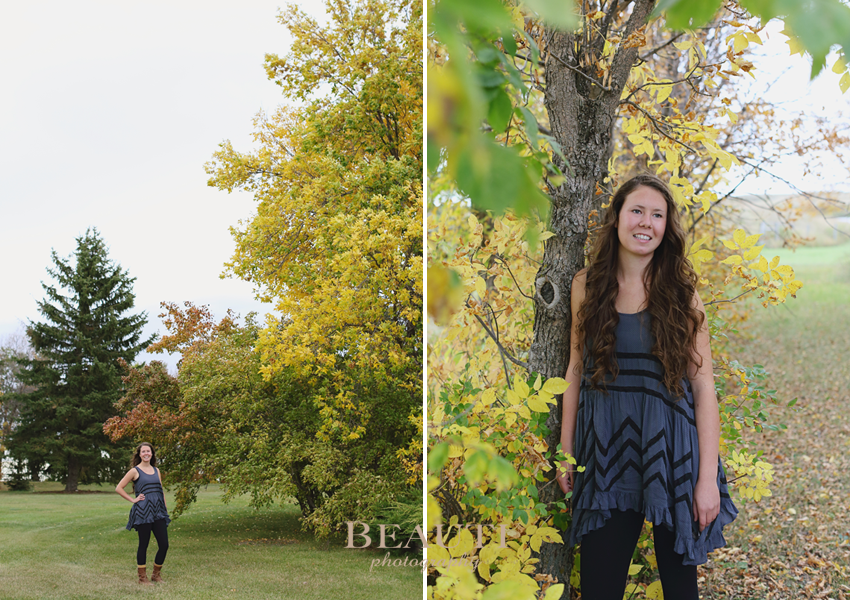 Weyburn-graduation-casual-portrait-lifestyle-photography-Tribune-Saskatchewan-photographer-colorful-fall-leaves-photo