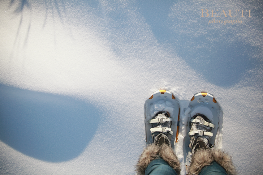 2014 Happy New Year Saskatchewan winter snowshoes prairies snowshoeing new years resolutions photo