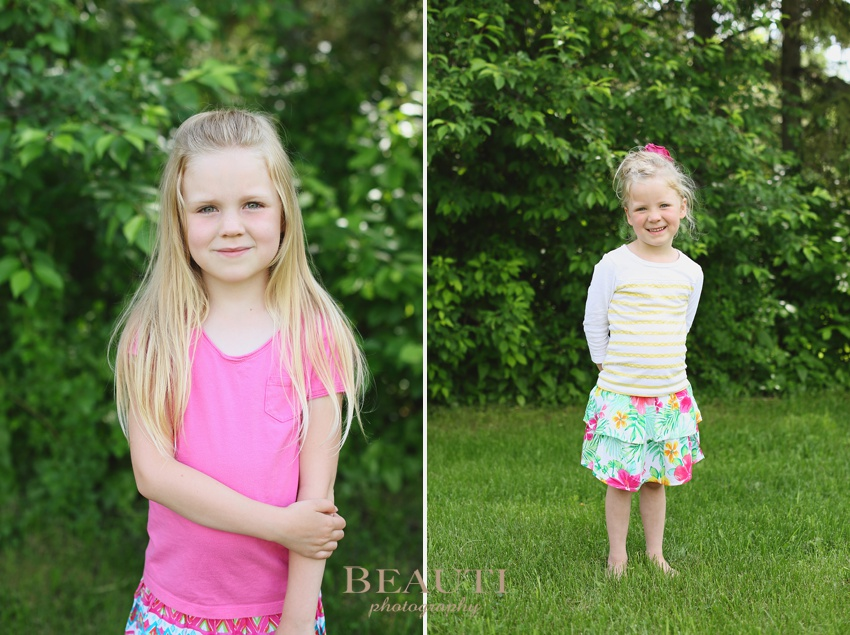 outdoor family lifestyle photographer Alberta children portrait photography summer photos