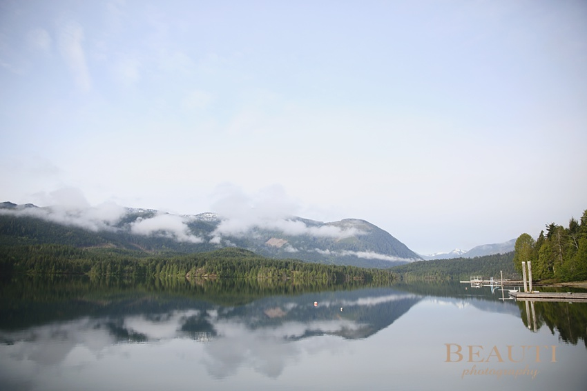 Sproat Lake British Columbia travel photography BC roadtrip early morning lake reflection photo