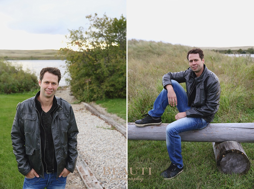 Weyburn Saskatchewan portrait lifestyle photographer outdoor fall portraits Souris River photo