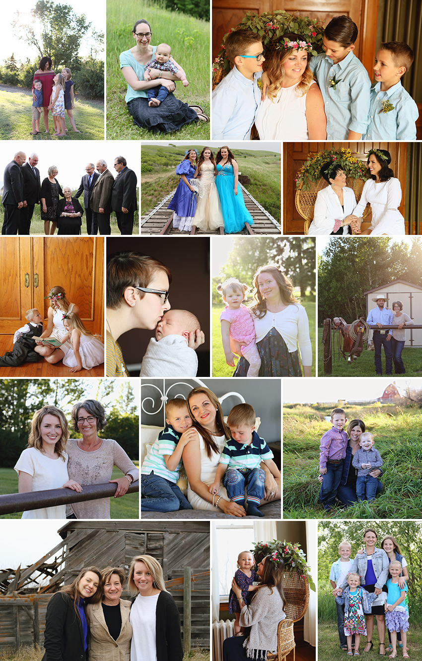 BEAUTI photography outdoor family portrait photographer Saskatchewan lifestyle photography mother and children mother