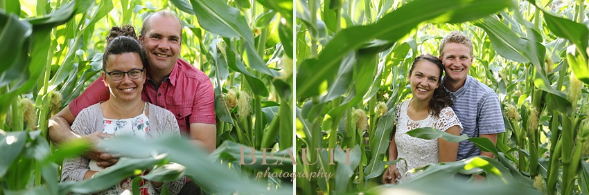 BEAUTI photography family lifestyle portrait photographer outdoor lifestyle family photography farming family Binscarth Manitoba family portrait session couples cornfield photo