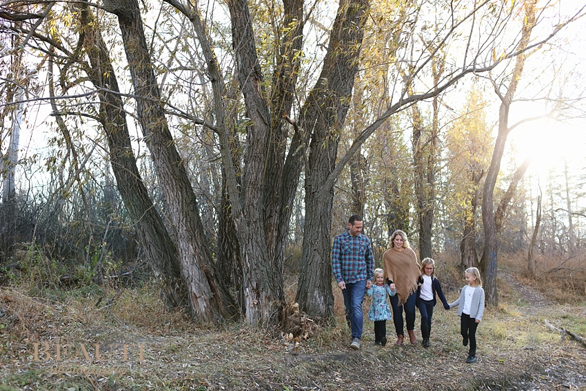 BEAUTI photography Tribune Saskatchewan family lifestyle photographer outdoor family portraits lifestyle photographer family running Weyburn family photographer family walking outdoor fall photos