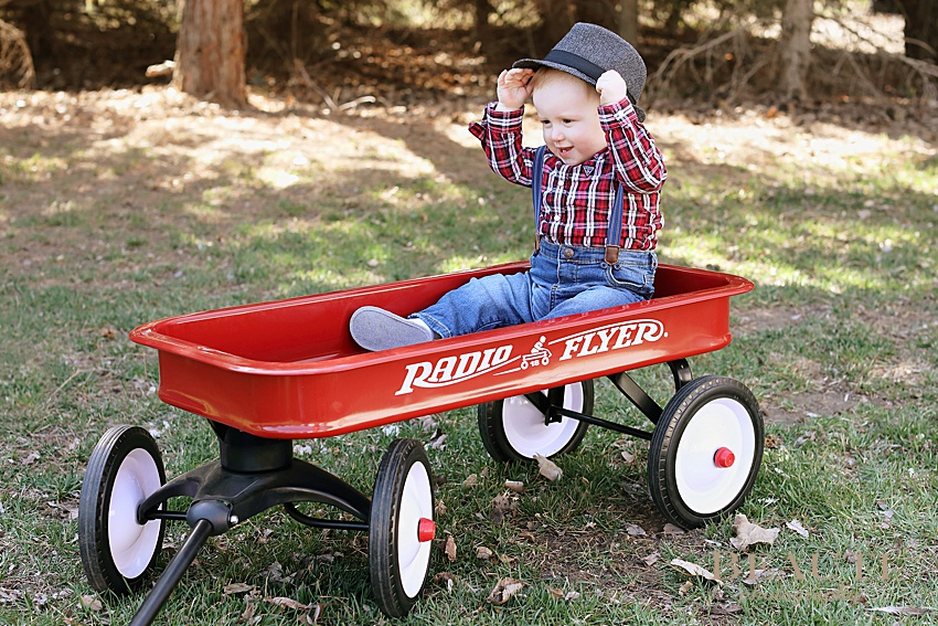 BEAUTI photography Tribune SK photographer baby photography family lifestyle photographer one year photos little red wagon photo