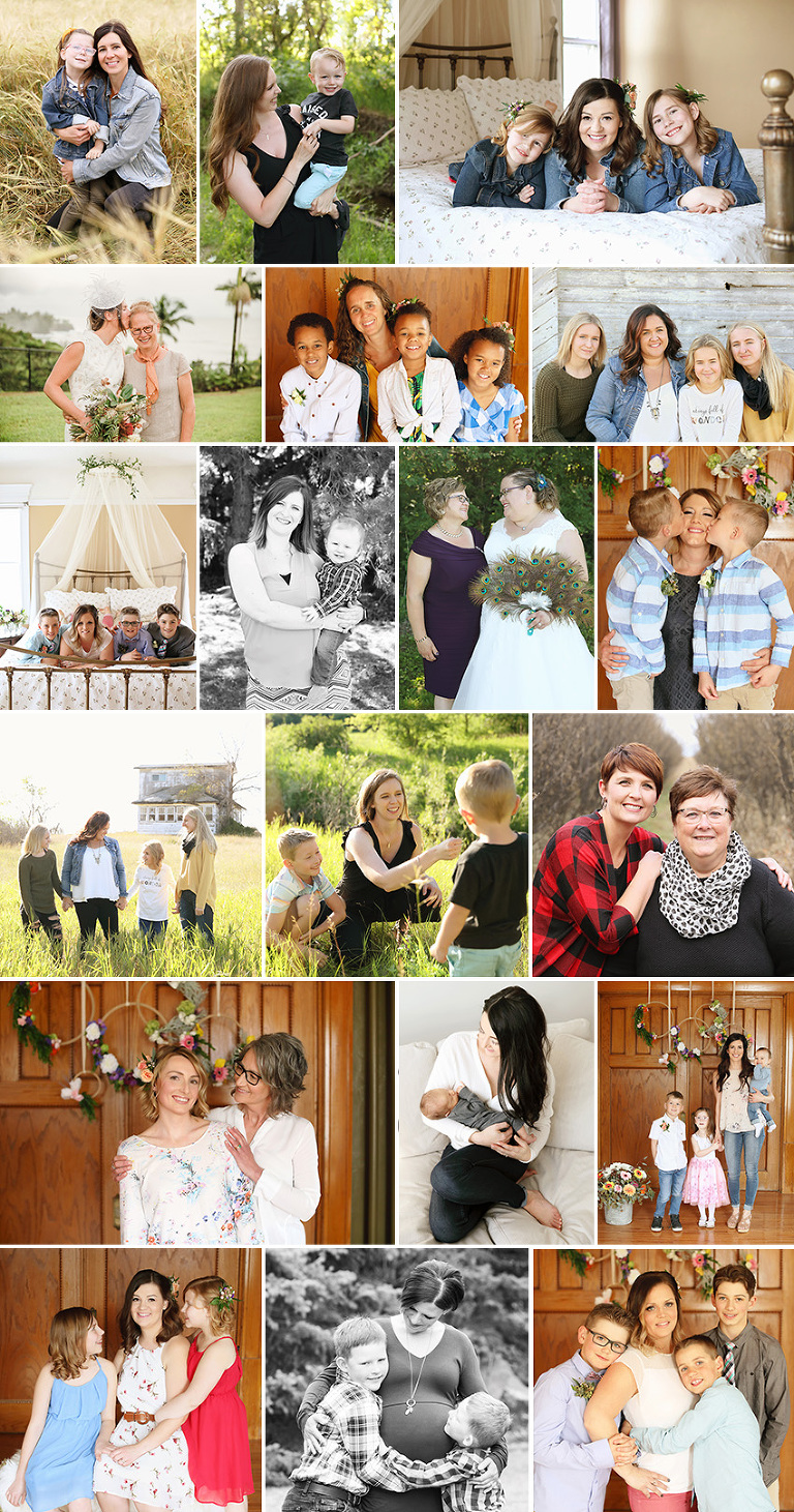 Mother's Day BEAUTI photography Weyburn family photographer Happy Mothers Day mom and children photo