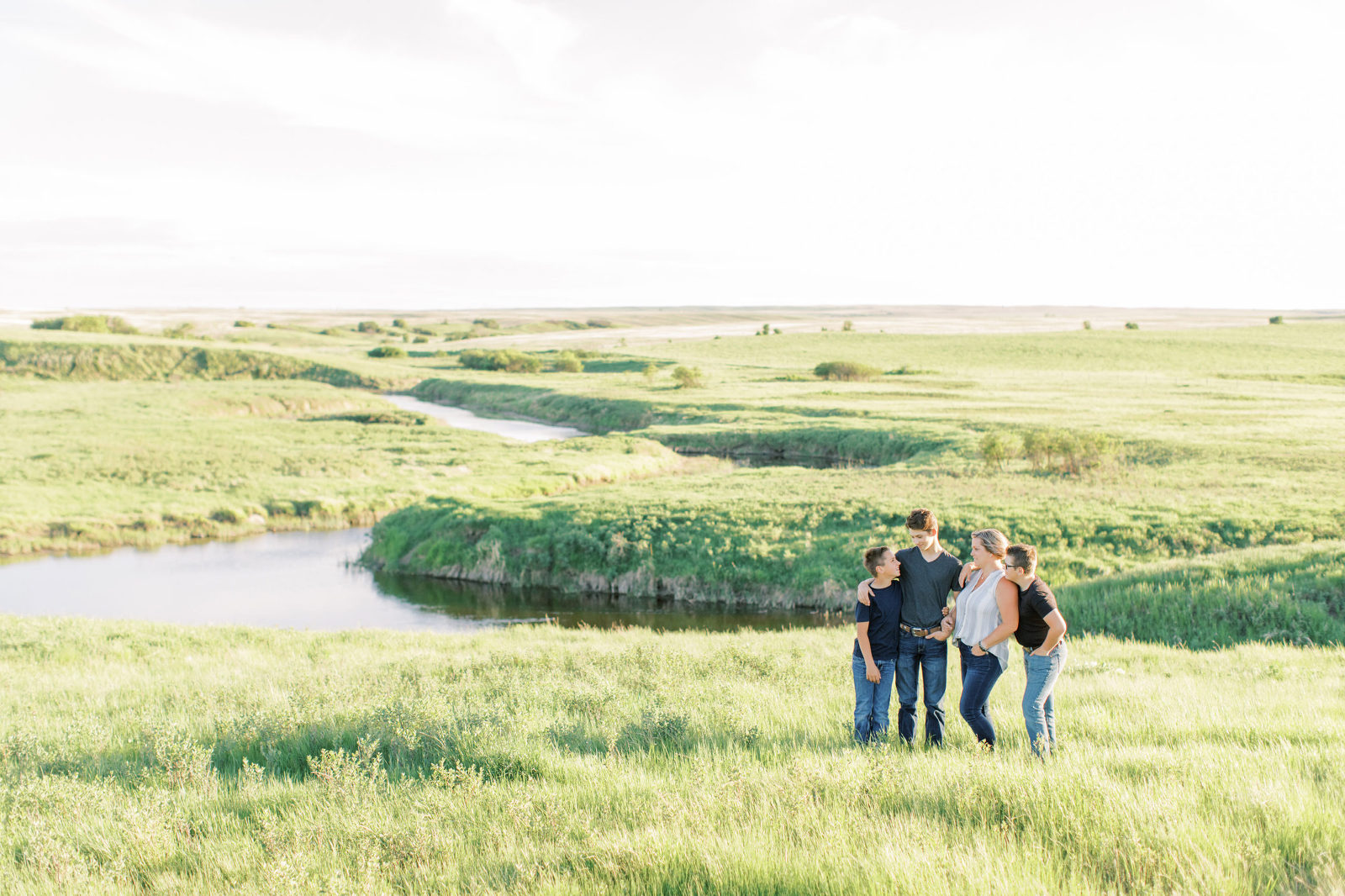 BEAUTI photography Tribune Saskatchewan family lifestyle photographer mother and sons